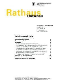 Rathaus Umschau 232 / 2019