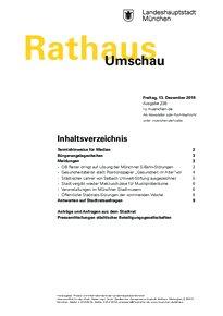 Rathaus Umschau 238 / 2019