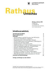 Rathaus Umschau 24 / 2019