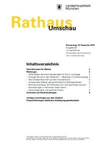 Rathaus Umschau 242 / 2019