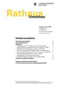 Rathaus Umschau 3 / 2019