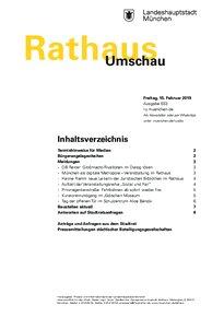 Rathaus Umschau 33 / 2019