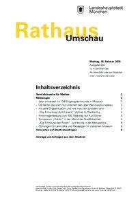 Rathaus Umschau 34 / 2019