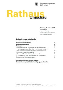 Rathaus Umschau 35 / 2019