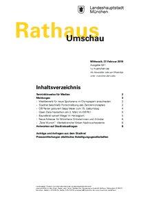 Rathaus Umschau 41 / 2019
