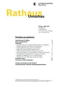 Rathaus Umschau 43 / 2019