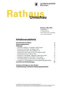 Rathaus Umschau 44 / 2019