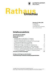 Rathaus Umschau 54 / 2019