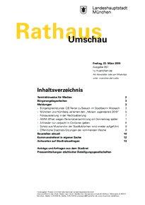 Rathaus Umschau 57 / 2019
