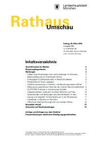 Rathaus Umschau 62 / 2019