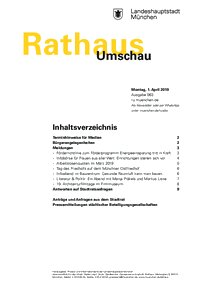 Rathaus Umschau 63 / 2019