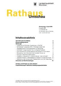 Rathaus Umschau 66 / 2019