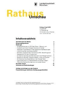 Rathaus Umschau 67 / 2019