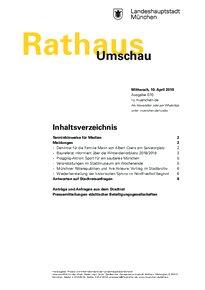 Rathaus Umschau 70 / 2019