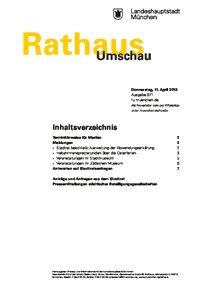 Rathaus Umschau 71 / 2019