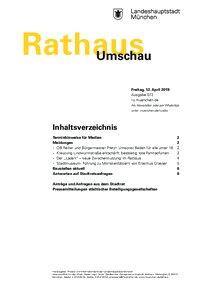 Rathaus Umschau 72 / 2019