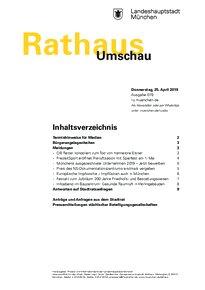 Rathaus Umschau 79 / 2019