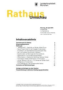 Rathaus Umschau 82 / 2019