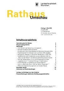Rathaus Umschau 84 / 2019
