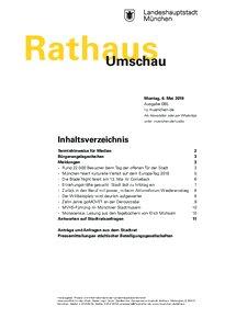 Rathaus Umschau 85 / 2019