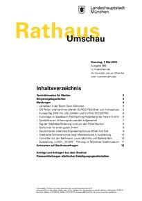Rathaus Umschau 86 / 2019