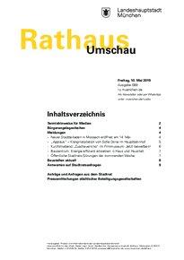 Rathaus Umschau 89 / 2019