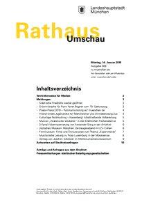 Rathaus Umschau 9 / 2019