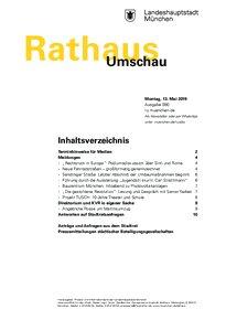 Rathaus Umschau 90 / 2019