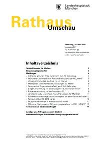Rathaus Umschau 91 / 2019