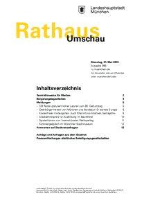 Rathaus Umschau 96 / 2019