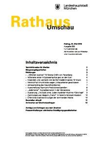 Rathaus Umschau 99 / 2019
