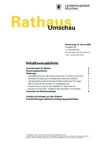 Rathaus Umschau 10 / 2020