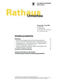 Rathaus Umschau 104 / 2020