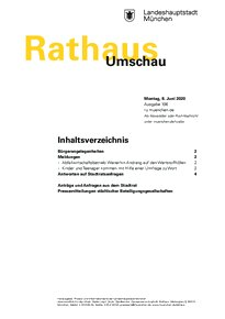 Rathaus Umschau 106 / 2020