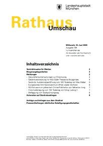 Rathaus Umschau 108 / 2020