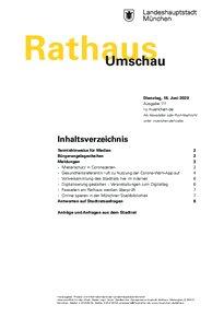 Rathaus Umschau 111 / 2020