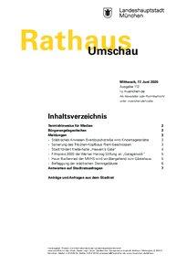 Rathaus Umschau 112 / 2020