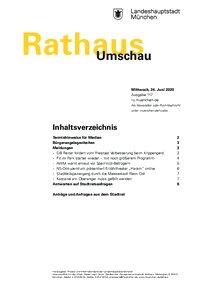 Rathaus Umschau 117 / 2020