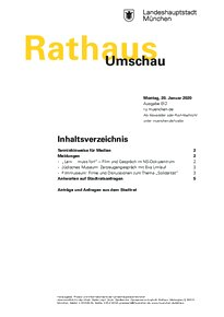 Rathaus Umschau 12 / 2020