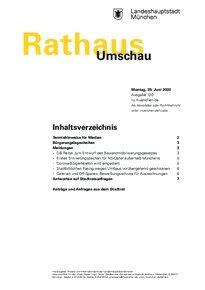 Rathaus Umschau 120 / 2020