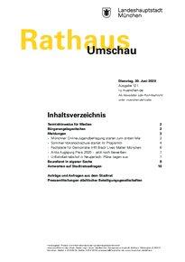 Rathaus Umschau 121 / 2020
