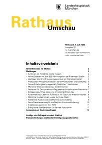 Rathaus Umschau 122 / 2020