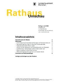 Rathaus Umschau 124 / 2020