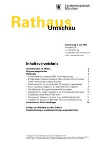 Rathaus Umschau 128 / 2020