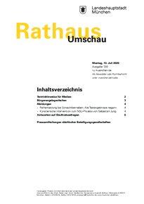 Rathaus Umschau 130 / 2020