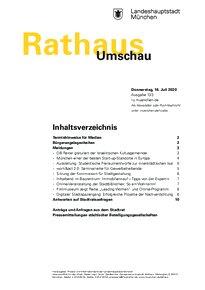 Rathaus Umschau 133 / 2020