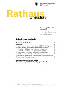 Rathaus Umschau 138 / 2020