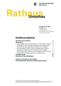 Rathaus Umschau 139 / 2020