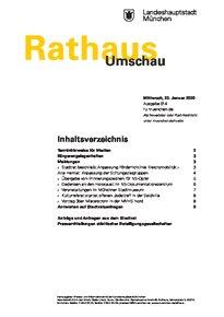 Rathaus Umschau 14 / 2020