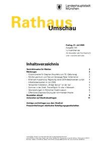 Rathaus Umschau 144 / 2020